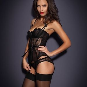 81e8c85a56 AGENT PROVOCATEUR Intimates   Sleepwear - NWT AGENT PROVOCATEUR LOVE BASQUE  BLACK